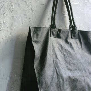 CHEEZ CHEEZ canvas 鞄 _Ga bag_ horizontal black