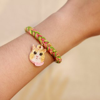 Pet pendant custom woven bracelet (please confirm the time before payment)