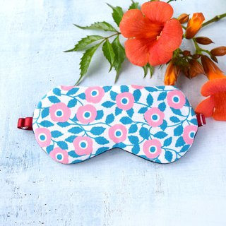 Coral Flower/sleep mask/with a bag/travel/gift/mask/decollections print