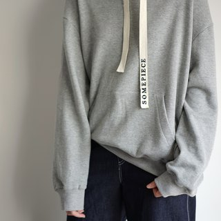 Cotton Hoodie - Grey