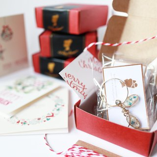 Christmas limited earrings box (only ear clips)