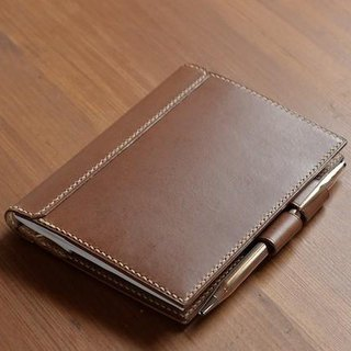 Swallow note A 6 with a penholder leather cover Color order