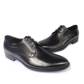 Sixlips simple plain Derby shoes V-Front black