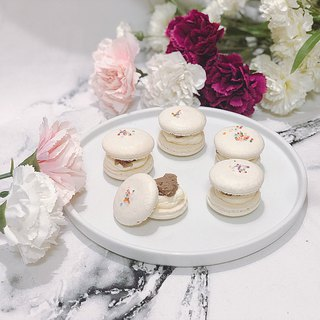 Chestnut French hand made macaron