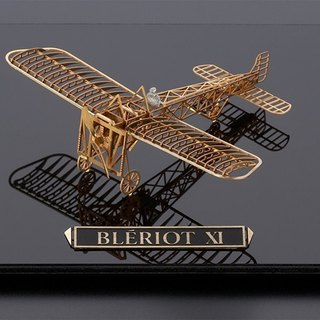 SUSS-Japan Aerobase Metal Etching Model Assembly Aircraft Bleriot XI (1/160) - Spot