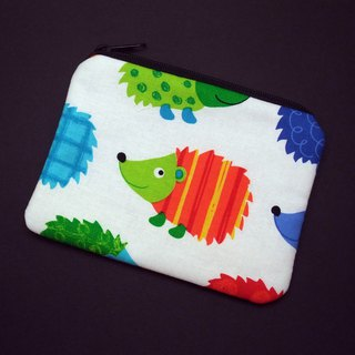Zipper pouch / coin purse (padded) (ZS-231)