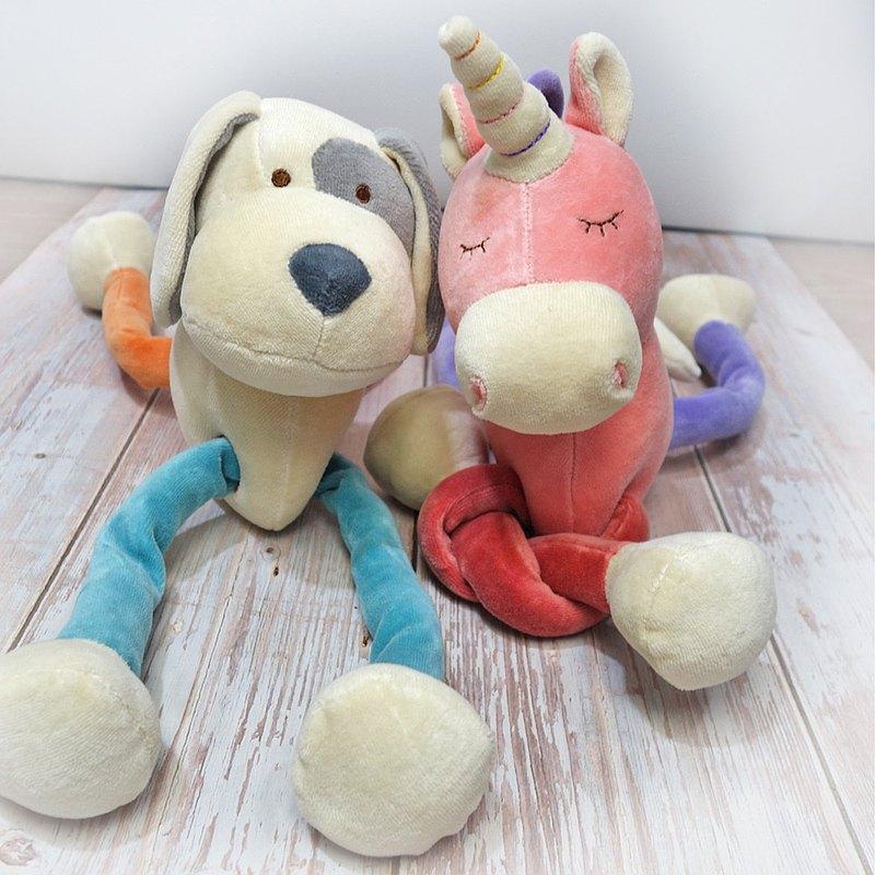 有機棉瑜珈娃娃 繽紛安撫玩具 miYim