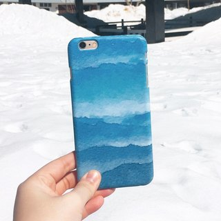 Seasons Scenery Series - Winter Pulse (iPhone.Samsung Samsung, HTC, Sony. Asus Case Cover)