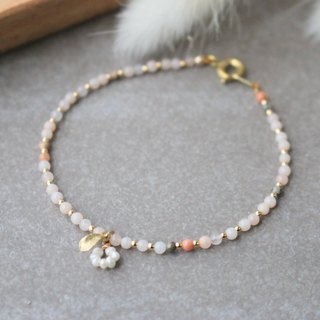 Tianhe stone brass pearl bracelet 0627 (you are my good friend)