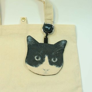 Embroidery certificate sets of 03 - black and white cat