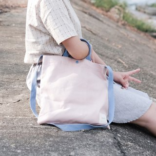 Square Tote - Pink