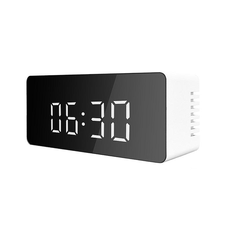 LED鏡面時鐘-鬧鐘 化妝鏡 溫度日期顯示 多功能合一