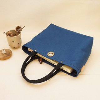 Office workers out of the bag at noon / lunch bag / sundries bag - cotton canvas series