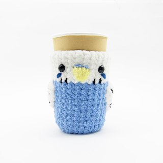 Budgerigar - parrot - cup set - pen holder