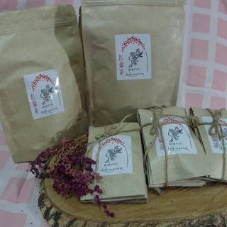 The original village tribe - non-toxic red tea (five packs into)