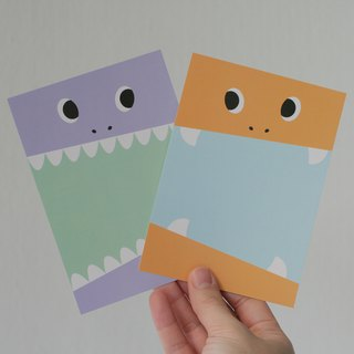 Glutton Monster Postcard set