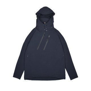 oqLiq - Display in the lost - Deconstruction Double Zip Hoodie (Black)