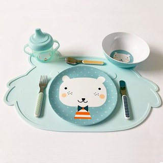 Dutch Petit Monkey ─ Mint Green koala Silicone Placemat