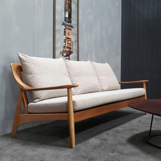 【DENFOS Collection】 Fengnian sofa (three seats) DS062