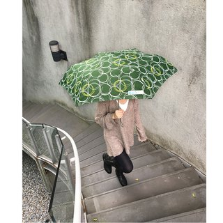 [Taiwan's Creative Rain's talk] circle UV anti-UV folding umbrella