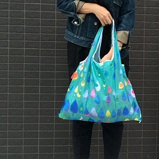 Japanese Prairie Dog Design Bag - Raindrops