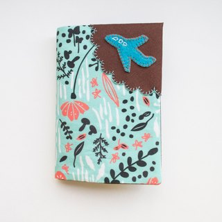 Botanical Springtime - Fabric Passport Cover