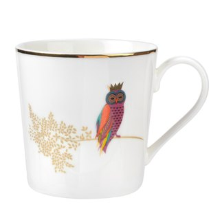 Sara Miller London for Portmeirion Piccadilly Mug - Opulent Owl