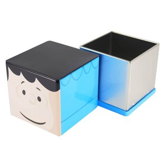 Snoopy Tin Storage Box - Lucy [Hallmark-Peanuts Snoopy Storage/Others]