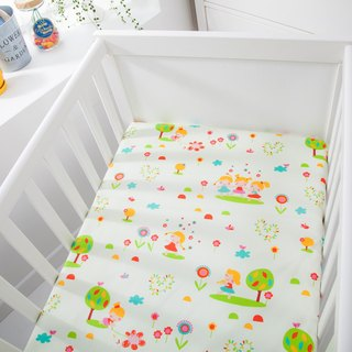 Waterproof breathable cotton baby bed sheet <happy doll> diaper pad waterproof pad diapers pad