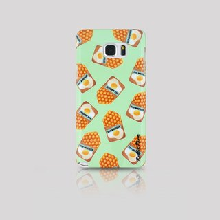 (Rabbit Mint) Mint Rabbit Phone Case - Hong Kong-style cuisine series (Egg) - Samsung Note 5 (00095)