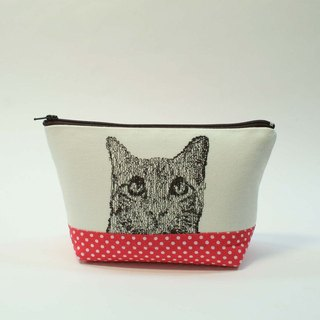 Embroidery Cosmetic 14- cat