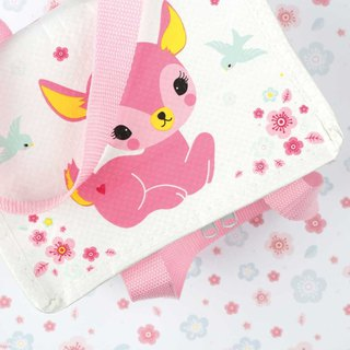 Netherlands a Little Lovely Company - healing pink deer cold picnic bag