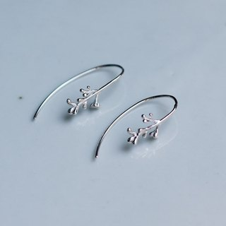 Sv925 olive bud earrings