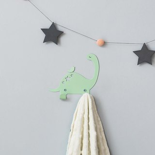 Dragon and bird hook (mint green)
