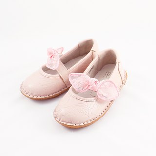 啾啾 bow doll shoes - pink kids