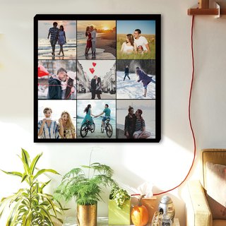 Customized photo frameless painting