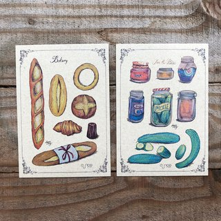 Bread & Jam Vintage Postcards