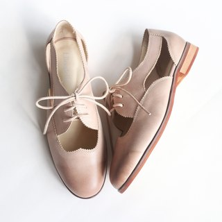【bite a cookie】Openwork shoes-Pink