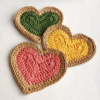 New products | hm2. Heart Cookies Heart-shaped handmade biscuit coasters