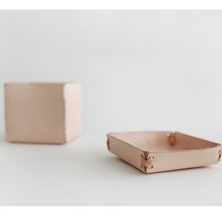 Leather-shop jewelry box