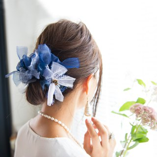 party || night sky || Blooming Sakiami Colourful Hair Scrunchy | Hair Accessory