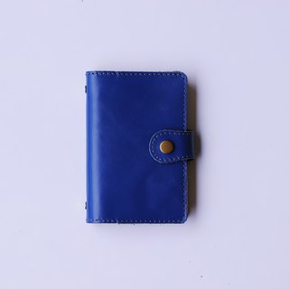 2019 leather hole clip million hand account | A7 | navy blue