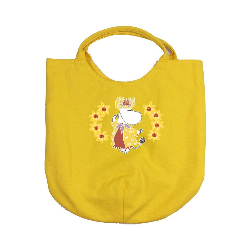 Moomin 噜噜米 authorized - curved handbag (yellow), AE02