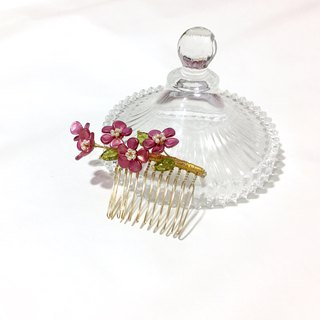 [If Sang] Flowers and Alice - Midsummer. Hand-woven flowers are inserted. Antique glass petals.