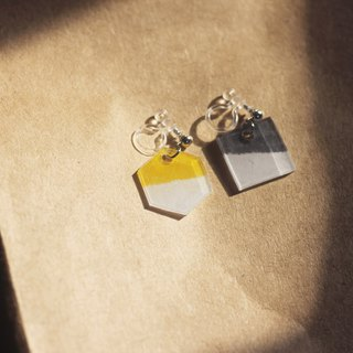 Urban - pin clip-on earrings