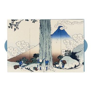 Ukiyo-e Fuji Hill Casket [Hallmark - classic card wind / multi-purpose]