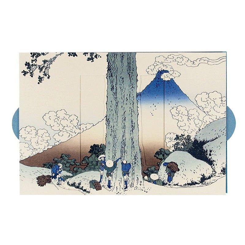 浮世繪富士山小箱【Hallmark-卡片 經典和風/多用途】