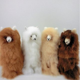 Different Colors - Handmade Alpaca Stuffed Animal Plush Alpaca 13 IN- Peruvian Fur Gifts or Souvenirs