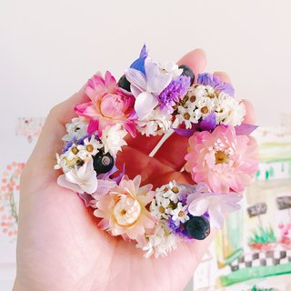 [Funny sweet tower - palm mini circle] dry flower wedding small things birthday ceremony home layout