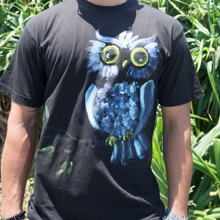 Qin Blue Owl Winwing hand-painted clothing
